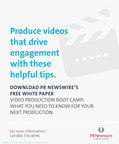 PR Newswire's Guide Video Production Boot Camp: What You Need to Know for Your Next Production provides marketers an in-depth look into the ins and outs of the video production process.
