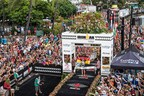 Sebastian Kienle (DEU) dominated the 2014 IRONMAN World Championship presented by GoPro with the third-fastest bike split in championship history to become the first IRONMAN World Championship victor from Germany since 2006. Photo Courtesy: Nils Nilsen/IRONMAN (PRNewsFoto/IRONMAN)