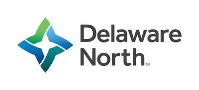 Horizontal Delaware North logo with registration mark. Updated January 2017 (PRNewsFoto/Delaware North)