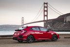 New Euro-Inspired 2017 Honda Civic Hatchback Arrives from Across the Pond