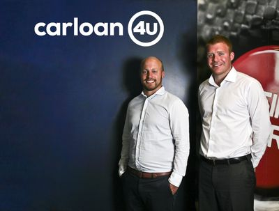 Car Loan 4U - James Wilkinson (left) and Ryan Dignan (right)