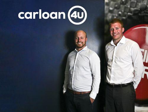 Car Loan 4U - James Wilkinson (left) and Ryan Dignan (right) (PRNewsFoto/Car Loan 4U)