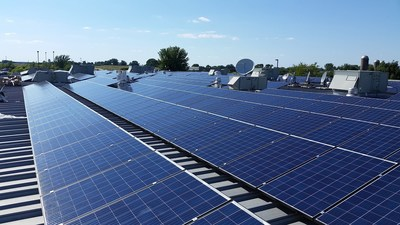 ET Solar Powers Largest ACPV Project in the USA