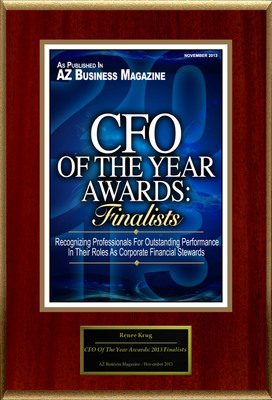 Renee Krug Selected For 'CFO Of The Year Awards: 2013 Finalists'