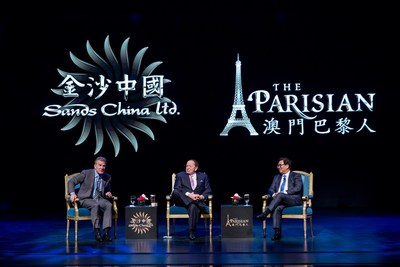 Las Vegas Sands and Sands China Celebrate Grand Opening of The Parisian Macao