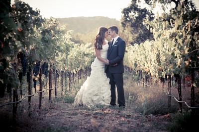 Death-with-dignity advocate Brittany Maynard & husband Dan Diaz at their wedding (PRNewsFoto/Compassion & Choices)