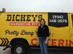 Owner/Operator Jani Foster opens Dickey's Barbecue Pit in Madisonville on Thursday