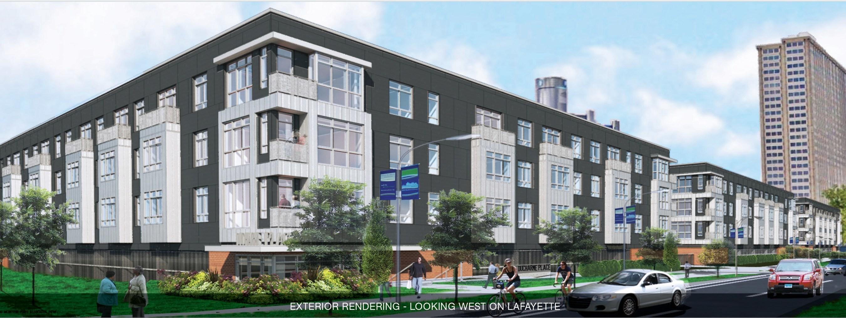 DuCharme Place, Detroit's Premier Downtown Apartment Community