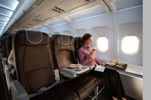 bmi Strengthens Short Haul In-Flight Product