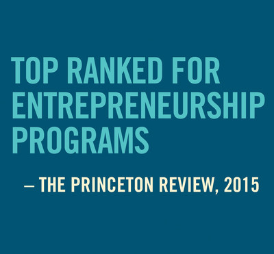 Babson Named Nation's Top Entrepreneurship College by The Princeton Review & Entrepreneur Magazine (PRNewsFoto/Babson College)