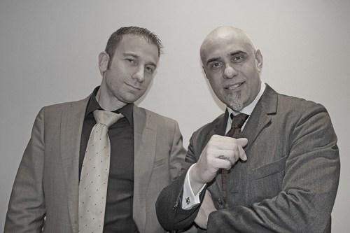 Gianfranco Ilacqua and Paolo Ferrari, Mon-K's Founders (PRNewsFoto/Mon-K Data Protection Limited)