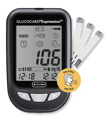 GLUCOCARD Expression Blood Glucose Meter from ARKRAY USA, Inc.