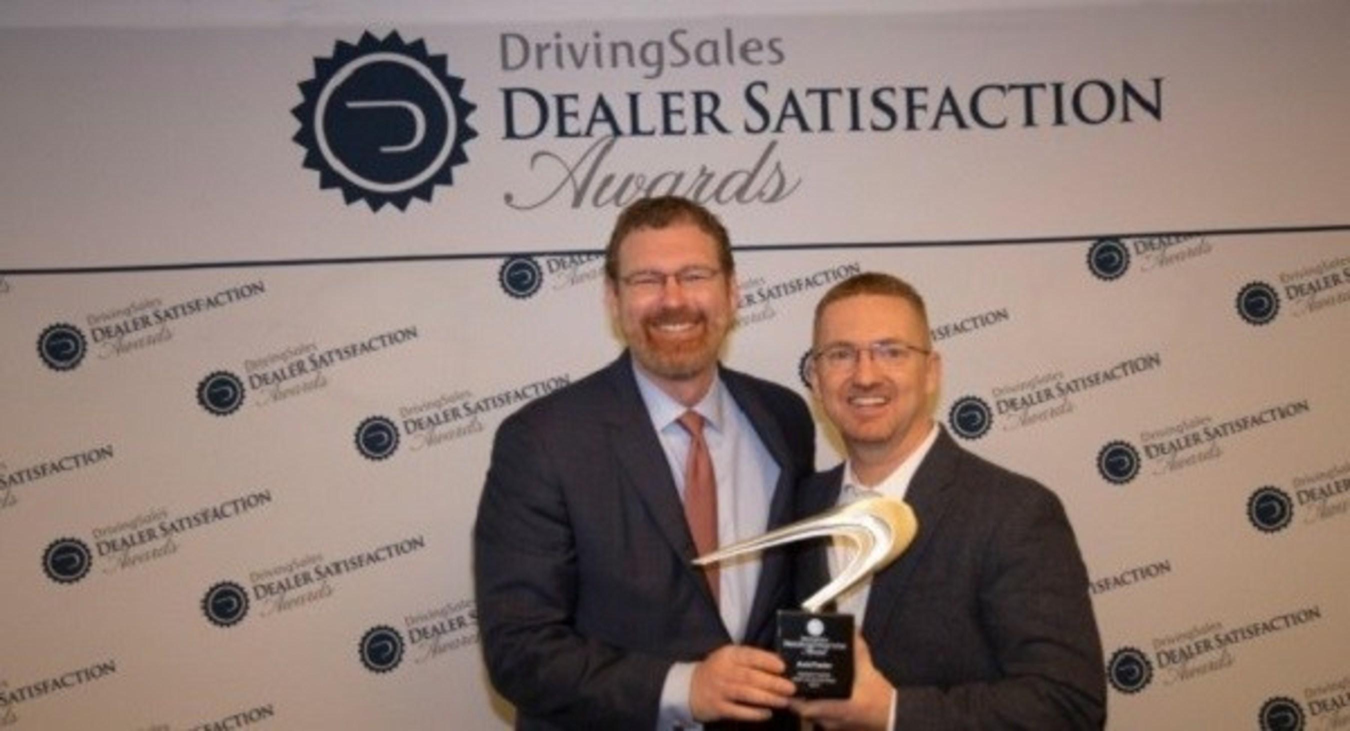 """AutoTrader.com Receives """"Highest Rated"""" DrivingSales Dealer Satisfaction Award"""