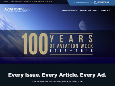 Penton's Aviation Week and Boeing Celebrate their Hundredth Anniversaries