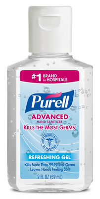 PURELL Advanced Hand Sanitizer named Travelers' Choice Favorite and must have brand for travelers