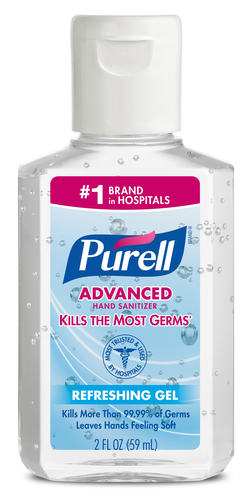 PURELL Advanced Hand Sanitizer named Travelers' Choice Favorite and must have brand for travelers ...