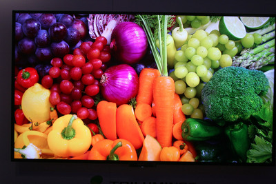 Color on the Sony KDL-55W900A LED TV.  (PRNewsFoto/Consumer Electronics Advisory Group Inc.)
