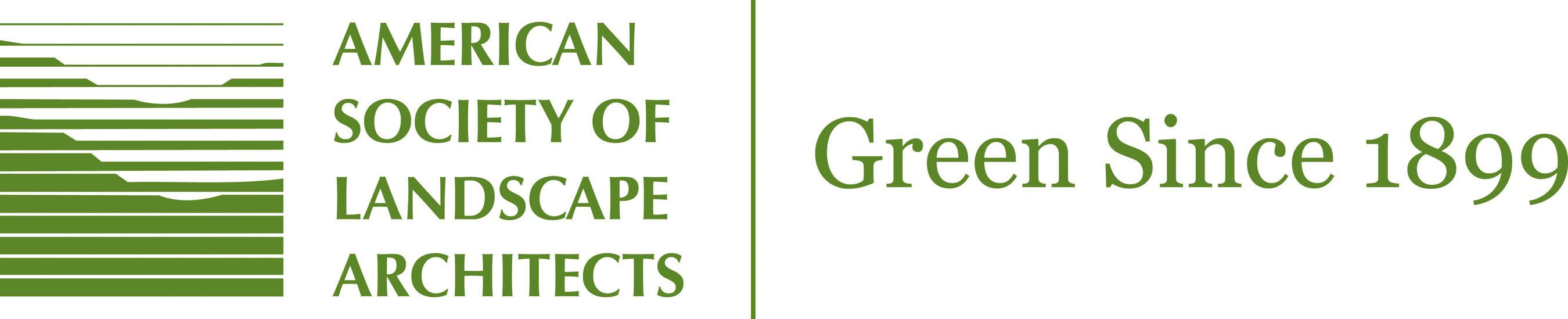 American Society of Landscape Architects logo.