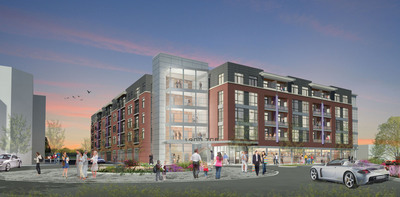 Crosswinds at Annapolis Towne Centre, Midrise Luxury in Modern Annapolis, Commences Leasing