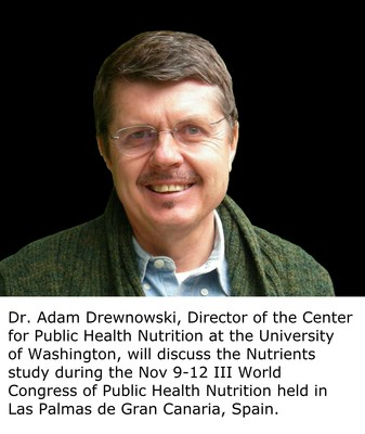 Dr. Adam Drewnowski, Director of the Center for Public Health Nutrition at the University of Washington