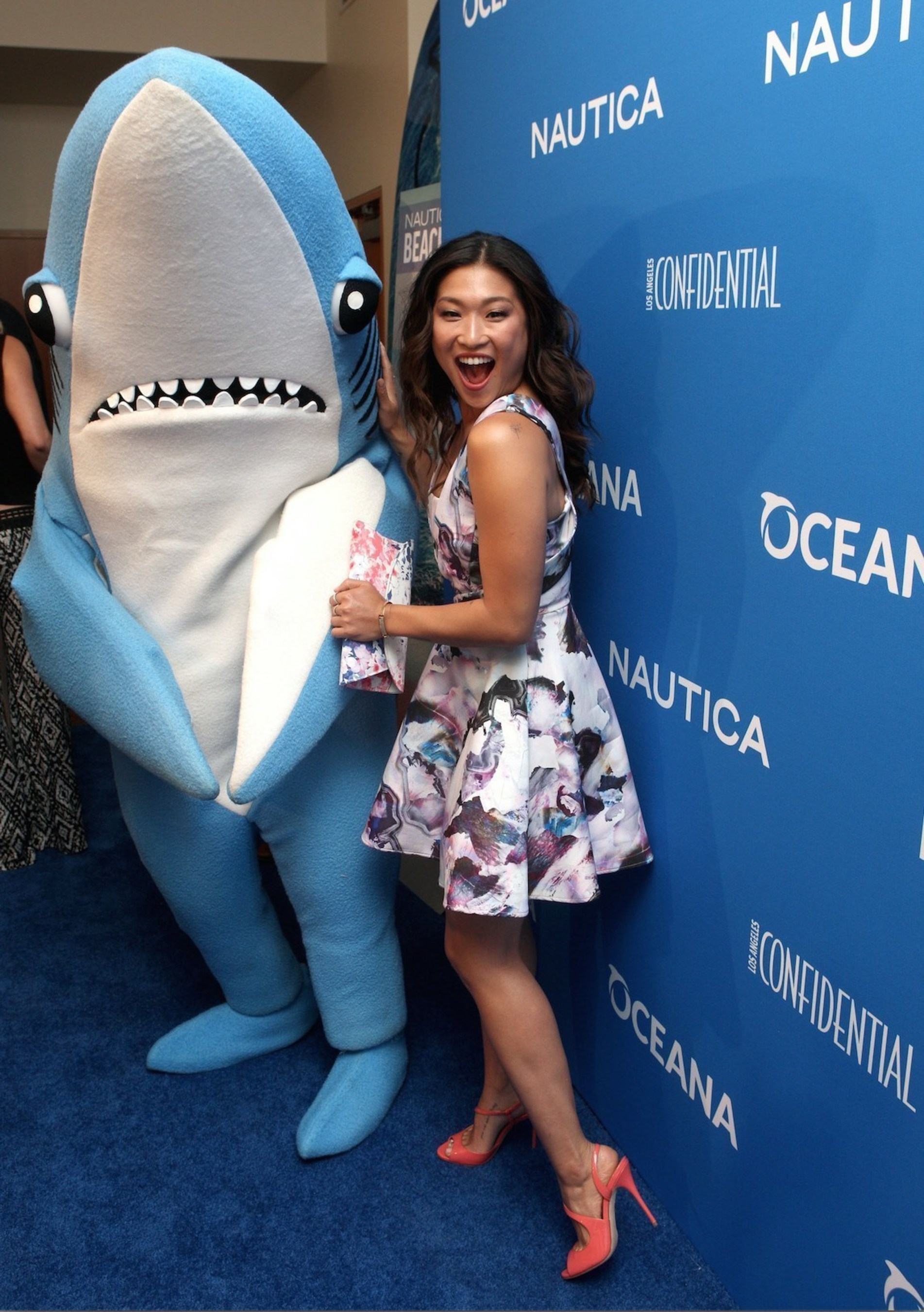 Jenna Ushkowitz and Reid Scott Celebrate the Oceans at 3rd Annual Nautica Oceana Beach House Party