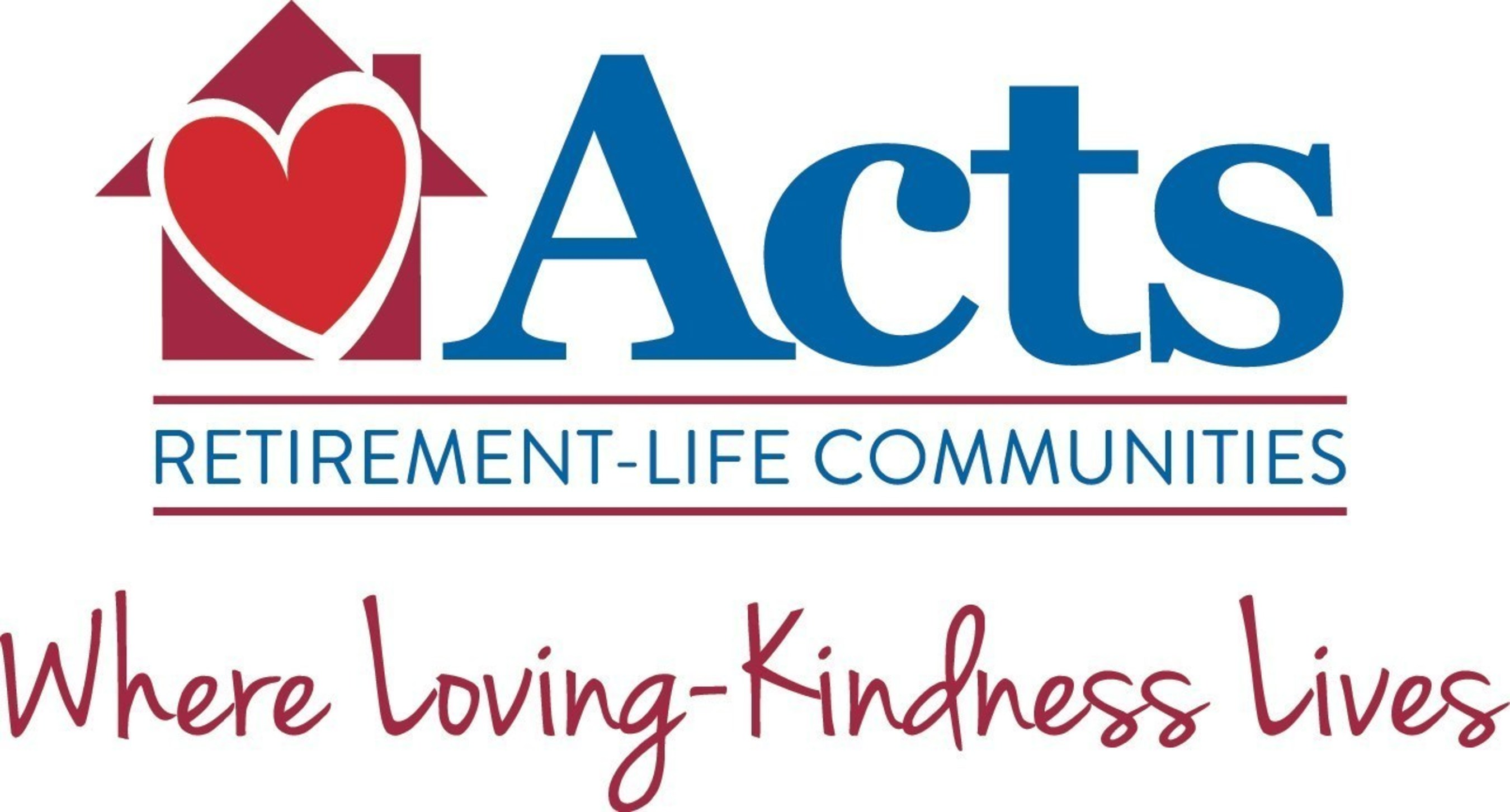 Acts Retirement-Life Communities Launches Brand Refresh with New Logo, Tagline and Website