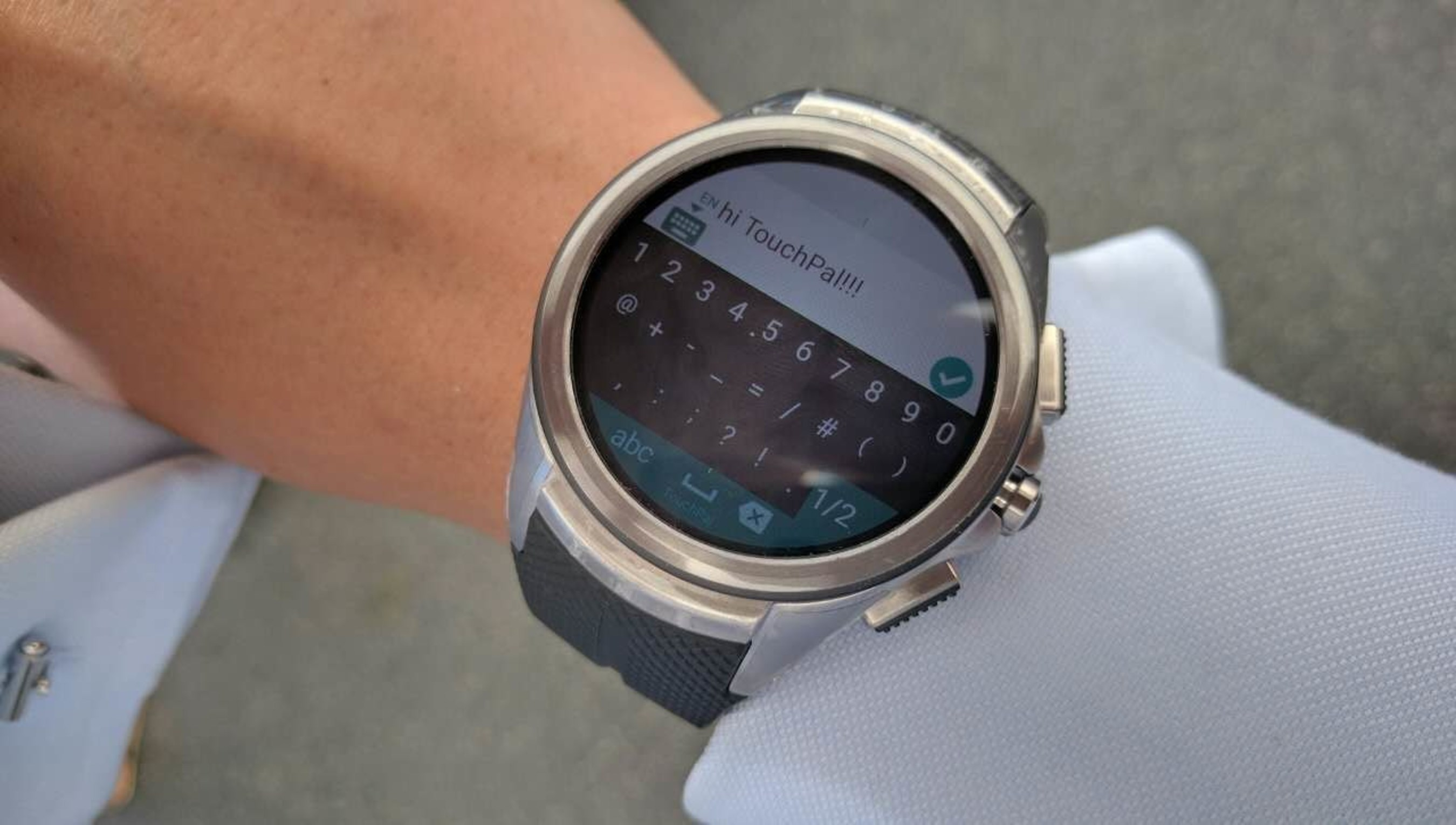 TouchPal Keyboard Supports Android Wear 2.0