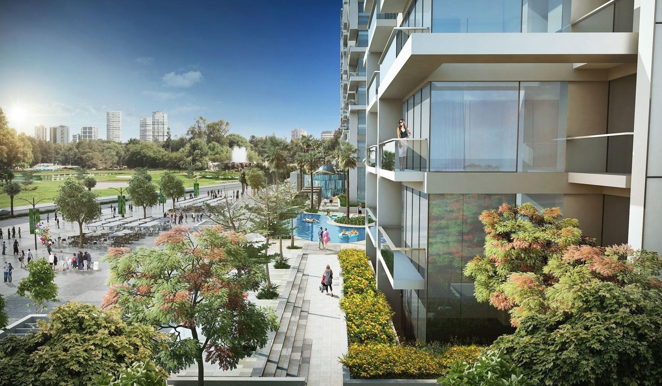 DAMAC Properties Launches 'The Beach at Navitas Hotel & Residences' (PRNewsFoto/DAMAC Properties)