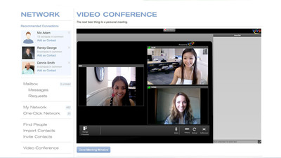 EFactor is the first entrepreneurial online platform with videoconferencing technology, providing global entrepreneurs a virtual environment that makes business meetings, webinars and eLearning a much more accessible and personal experience.  (PRNewsFoto/EFactor)