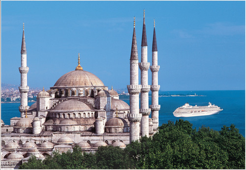 Crystal Cruises in Istanbul, a city full of Muslim and Christian sites.  (PRNewsFoto/Crystal Cruises)