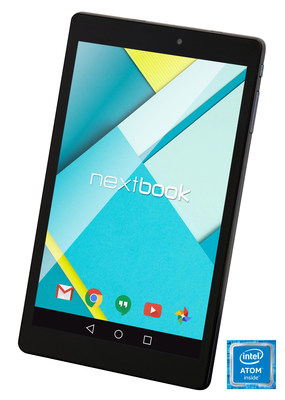 The sleek and lightweight Nextbook Ares 8 Android tablet is a perfect traveling companion, it comes with Intel Atom processor that lets users play games or steam videos smoothly and quickly