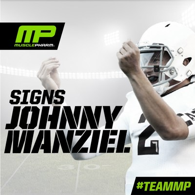 MusclePharm Corporation (OTCQB: MSLP), a scientifically driven, performance-lifestyle sports nutrition company, is proud to announce it has signed a multi-year endorsement deal with former Heisman Trophy winner and NFL first-round draft pick Johnny Manziel.