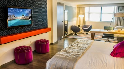The 109-room TRYP by WYndham Isla Verde, pictured above, is the first TRYP by Wyndham hotel in Puerto Rico, located just outside of San Juan.
