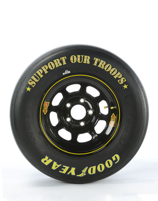 Goodyear Unveils Special Edition Military Support Tire.  (PRNewsFoto/The Goodyear Tire & Rubber Company)