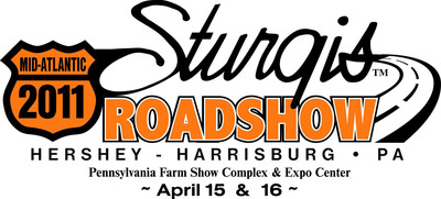 2010 Sturgis Road Show Logo with Hershey Harrisburg Region and Dates.  (PRNewsFoto/Hershey Harrisburg Regional Visitors Bureau)