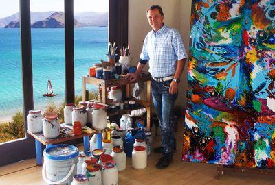 Charles Carson, Atelier, Amerique du Sud. (PRNewsFoto/AIBAQ)