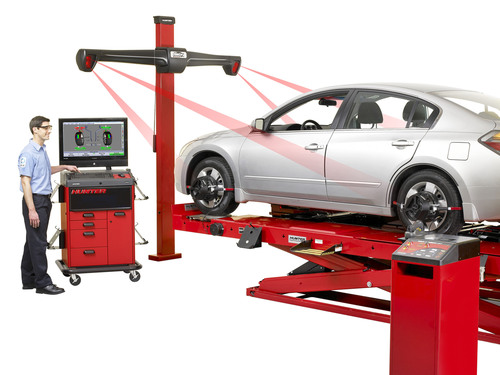Sears Auto Center performs a wheel alignment to keep your drive smooth and reduce unnecessary wear on your tires. Over 60% of cars tested at Sears Auto Centers are in need of an alignment. Is your car pulling to the left or right? Do you constantly feel as though you need to work to keep the car straight?