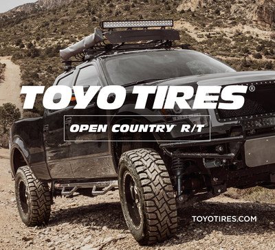 New Toyo Open Country R/T is Built Rugged for Any Terrain (PRNewsFoto/Toyo Tire U.S.A. Corp.)