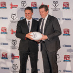 Toronto Mayor John Tory welcomes Paul Rowley, Head Coach of the newly announced Toronto Wolfpack Rugby League - the world's first transatlantic professional sports team