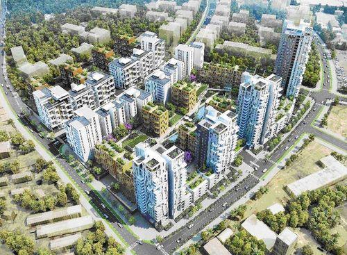 Phase 1 residential development, Naguru; Plus Architecture (PRNewsFoto/Made in Africa Foundation)