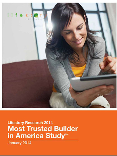 Lifestory Research Reports: Ashton Woods Homes Recognized by Home Shoppers as Most Trusted Builder