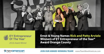 Ernst & Young Names Rick and Patty Arvielo Winners of EY Entrepreneur Of The Year Award Orange County.