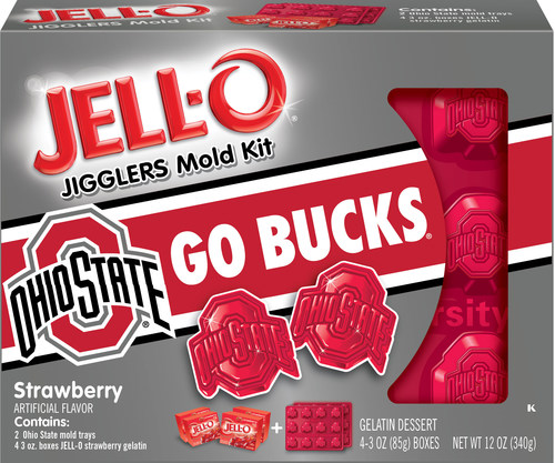 The Ohio State University Jell-O University Mold Kit (PRNewsFoto/Kraft Foods Group, Inc.)