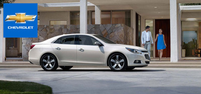 Test drive an all-new 2014 Chevy Malibu at Wheelers GM today.  (PRNewsFoto/Wheelers GM)
