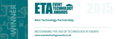 "Event Technology Award for ""Best Technology Partnership"""