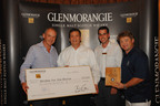 GLENMORANGIE DONATES $10,000 TO BIRDIES FOR THE BRAVE CHARITY.  (PRNewsFoto/Moet Hennessy USA)