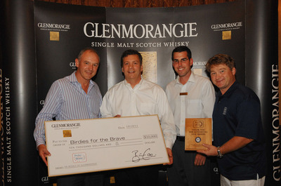 Glenmorangie Donates $10,000 to Birdies for the Brave Charity