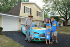 Richard Petty Hands Over Keys for a Mortgage Free House to Illinois Military Family