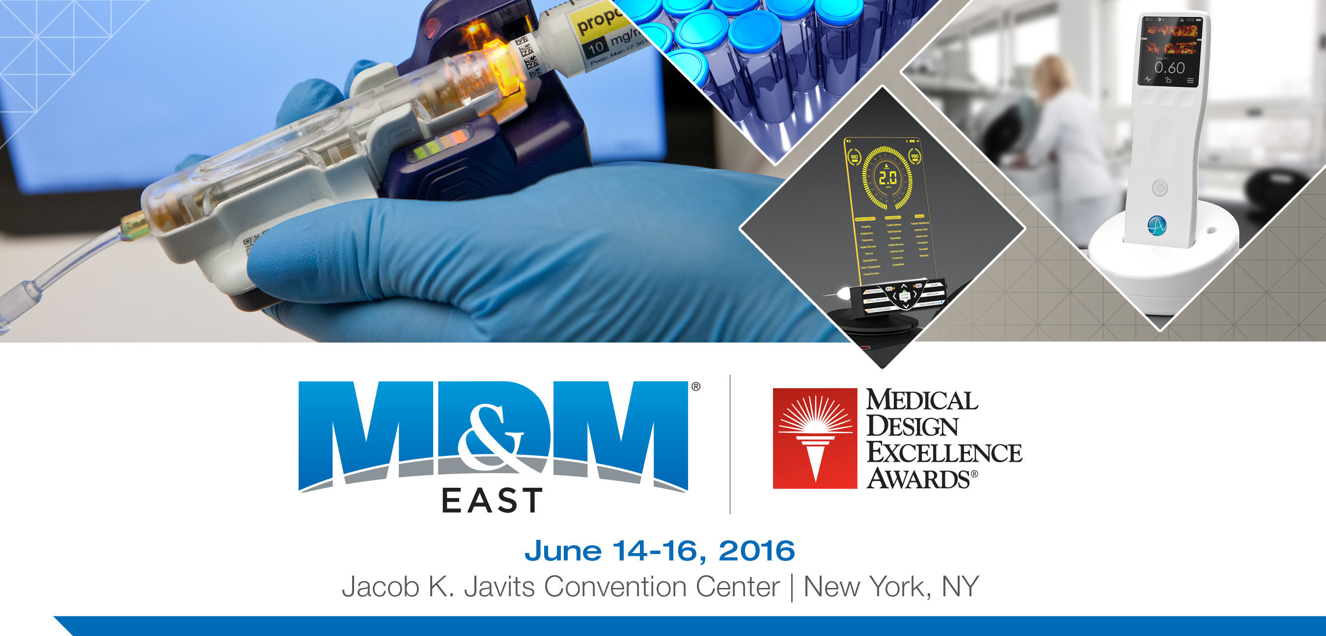 27 innovative Medtech Products Recognized as Winners at the 2016 Medical Design Excellence Awards