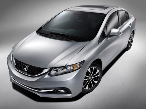 2013 Honda Civic to Debut at Los Angeles Auto Show With More Youthful and Premium Styling